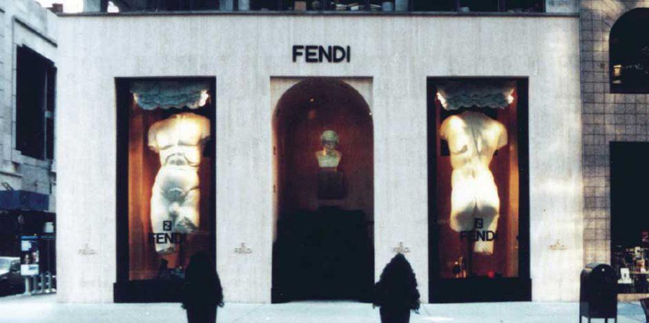 Retail & Hospitality Fashion Fendi NY