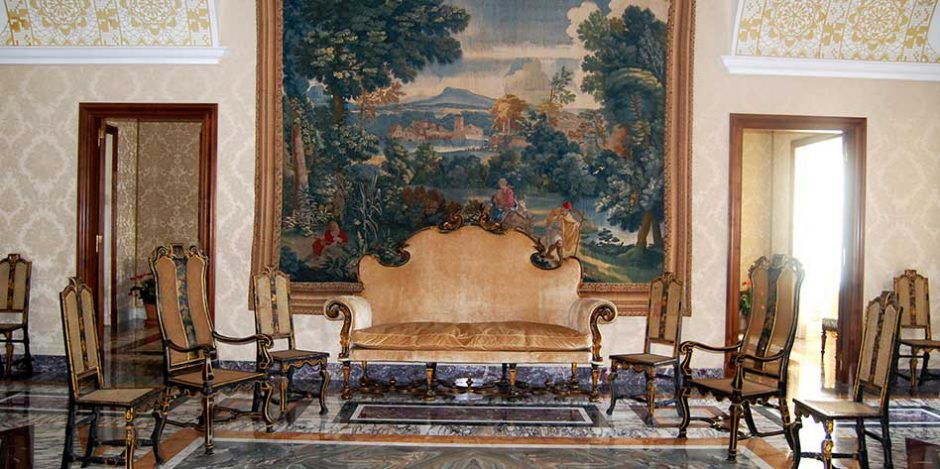 Wood Restoration Heritage Palazzo Gandolfo furniture